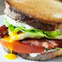 hangover sandwich